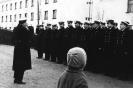 Личный состав 392 ОДРАП на построении. Осень 1963 года, Североморск